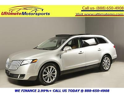 2010 Lincoln MKT  2010 LINCOLN MKT ECOBOOST AWD NAV PANO LEATHER HEAT/COOL SEATS SILVER