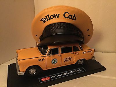 Yellow cab hat.Yellow taxi hat. Full Genuine leather, Ask About Sizes Available