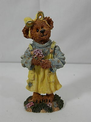 Boyds Bearstone Collection -  Abby T. Bearymuch...Yours Truly - 2000