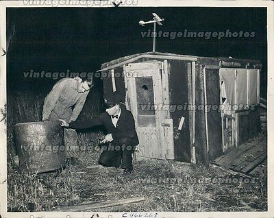 1938 Chief Police Glen Miller John Couch Roy Rootes Effie MN Press Photo