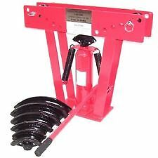 """12 ton tonne hydraulic pipe bender 1/2"""" to 2"""" 2 """" diameter with 6 dies new"""