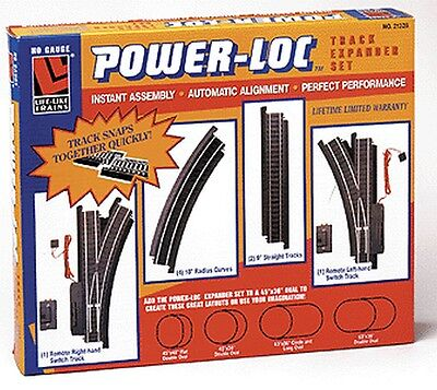 Life-Like - Life-Like Expander Power-Loc HO Black Roadbed  - 21328
