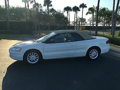 2003 Chrysler Sebring Lxi 2003 Chrysler Sebring Lxi Convertible 59K Miles Loaded New Tires Serviced