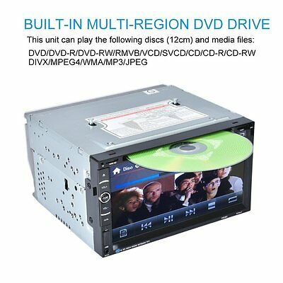 Android 7in 2Din 800 * 480 Car Stereo Radio DVD Player USB Bluetooth FM FG