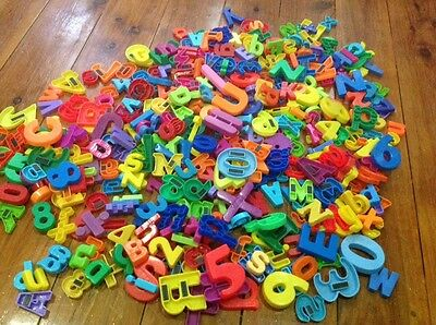 Magnetic letters and alphabet