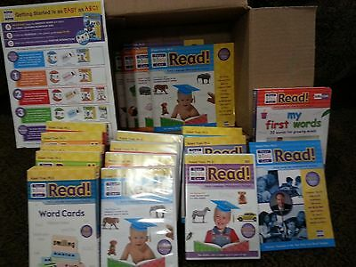 Your Baby Can Read! Early Language Development System Set DVD Books Cards