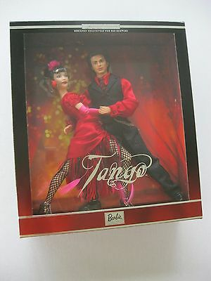 2002 Tango Barbie and Ken Dolls FAO Schwarz Exclusive Limited Edition #55314