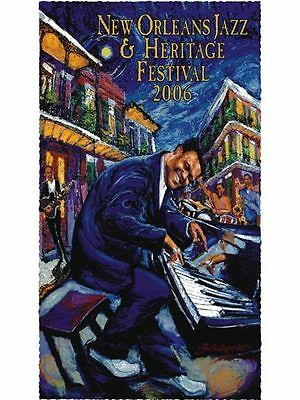 New Orleans Jazz Fest Poster 2006 Low Number Mint Condition