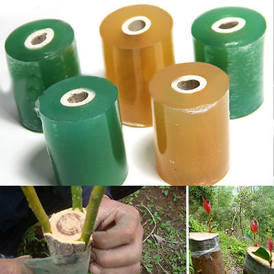 1Roll Grafting Tape Stretchable Self-adhesive PEFor Garden Tree Seedling Decor