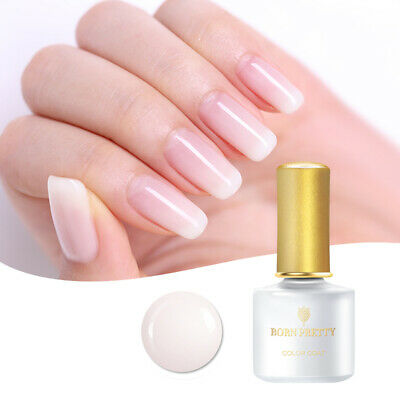 6ml Born Pretty Nail Art UV Gel Polish Opal Jelly Gel White Soak Off Gel Nails