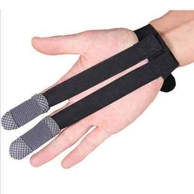 Archery Finger Protector Shoot Gloves Hunting Bow Fabric Fashion Unisex