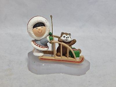 1989 Hallmark Frosted Friends Ornament