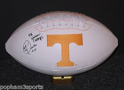PEERLESS PRICE Signed/Autographed TENNESSEE VOLUNTEERS Football 98 CHAMPS w/COA