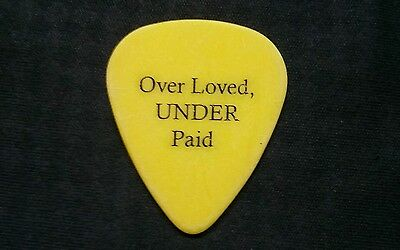 Korn guitar pick. Guitar tech Jimmy o bet you don't have this one!!!!!!