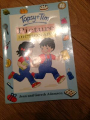 Topsy And Tim Picture Dictionary Book
