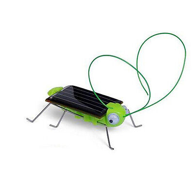 Solar Power Energy Bug Robot Insect Grasshopper Cricket Kit Toy Xmas Gifts