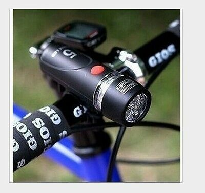 Cycling Riding Lamp Waterproof Mountain Bike Bicycle Headlight  5 LED Light