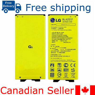 Brand new Original genuine Lg G5 Replacement battery BL-42D1F 2800mah H831