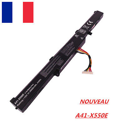 Batterie ASUS A41-X550E X450JF K550E K751L F751M A450J A450JF Li-ion 15V NEW A++