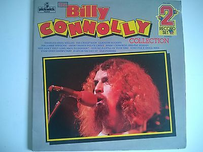 Billy Connolly Collection Double Lp Record 1973 Wellies, Jobbies, & More Exc