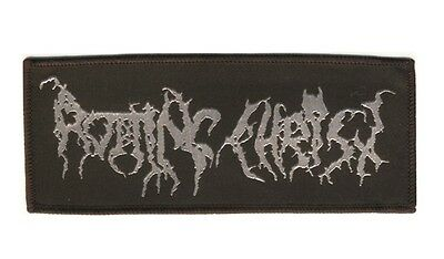 ROTTING CHRIST - Old School Logo - Aufnäher / Patch - Neu - #6421