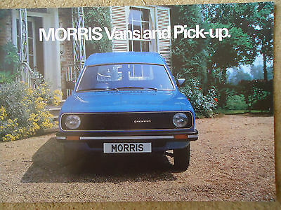 Morris Marina Van & Pick-Up Brochure