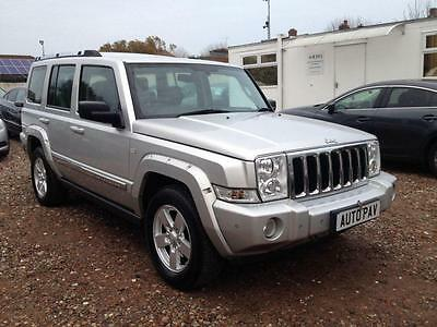 2006 56 Jeep Commander 3.0 V6 Crd Limited 5D Auto 215 Bhp Diesel