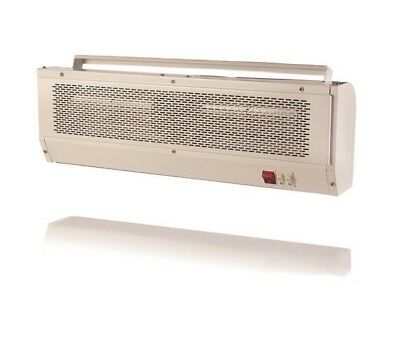 Air Curtain Screen Over Door 3KW Heater Wall or Ceiling Mount Electric Heating