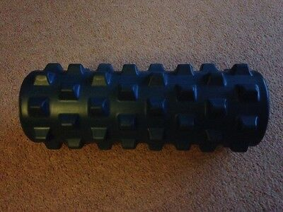 Peak Fitness Rumble Massage Roller navy