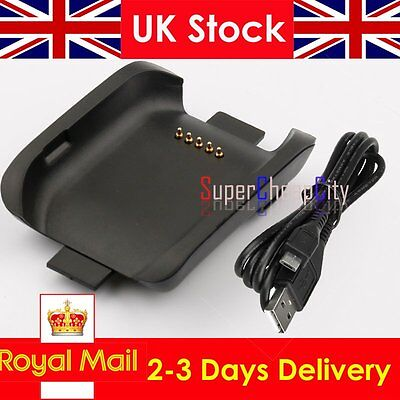 Charger Cradle Charging Dock Cable Samsung Galaxy Gear Smart Watch SM-V700 UK