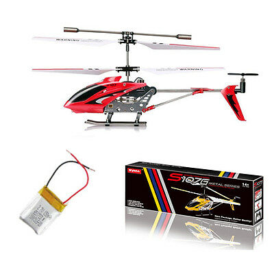 Syma S107G Indoor Helicopter 3CH RC Remote Control Toy w/Gyro Kids Motion Sensor