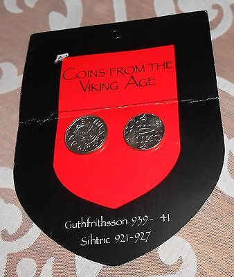 Coins From The Viking Age- Reproduction- Set Of 2