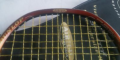 Dunlop Graphite Squash Racket with Cover Tactical Sniper Oversize Airfoil
