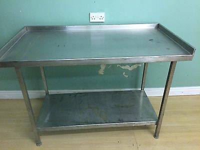 Stainless Steel commercial kitchen prep table