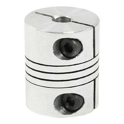 uxcell CNC Motor Shaft Coupler 5mm to 5mm Flexible Coupling 5x5mm