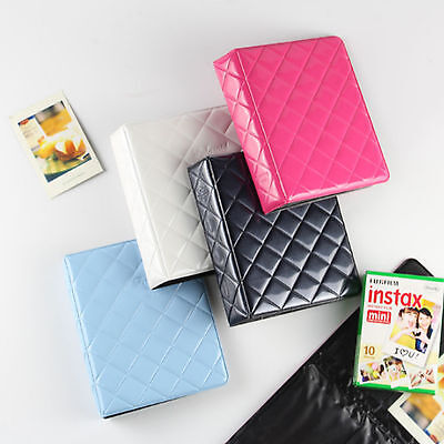 64 Pockets Photo Album For FujiFilm Instax Mini Polaroid Fuji Film Camera 7 8 90