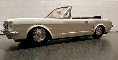 Vintage 1960s FORD MUSTANG CONVERTIBLE ~ Tin Friction Toy ~ Made in China