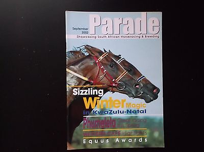 """parade"" South African Racing Magazine Sept. 2002"