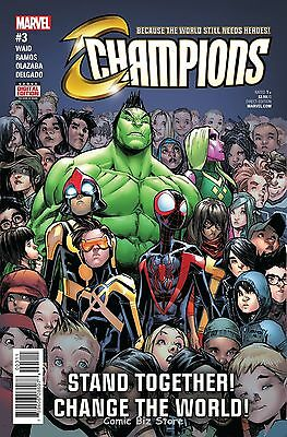 Champions #3 (2016) 1St Printing Bagged & Boarded Marvel Now