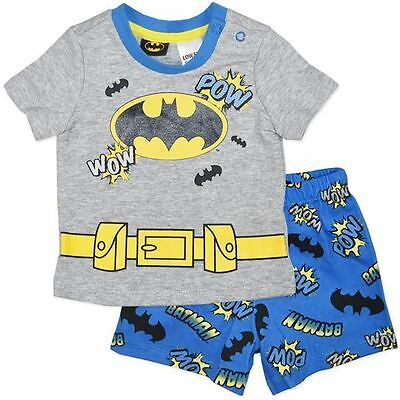 Baby Boys Batman Cotton Pyjamas (PJ's) NWT - Free Postage