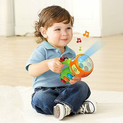 Spin And Learn Color Flashlight Baby Toddler Kids Learning Educational Toy New
