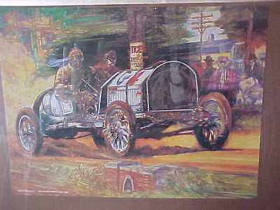 Indy Car 1908 Race Scene By Buick