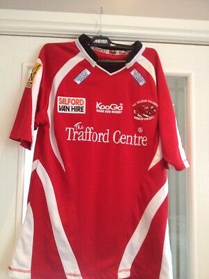 Men's Salford City Reds 2009 - Size Small - Used In Excellent Condition