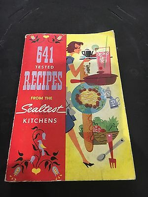 Vintage Cook Book, 641 Recipes From The Sealtest Kitchen