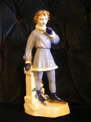 Large Ceramic Figurine of an Ice Skater