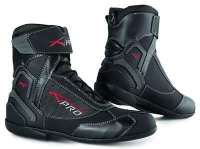 Botas Impermeable Sport Touring Moto Boots Zapato Maxi Scooters A-Pro