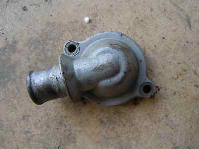 04-09 Triumph Rocket Iii Oem Thermostat Housing Cover Top JS