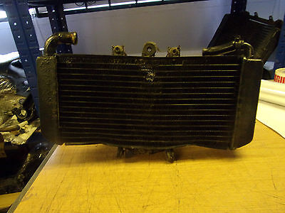 yamaha fzs 600 fazer 98-03 radiator with cooling fan   (5)