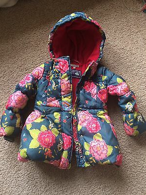 Girls winter coat age 4-5 from M&S