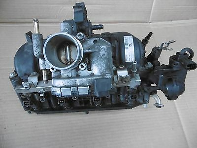 Vauxhall Astra H Petrol Intake Manifold + Throttle Body + Injectors 0280600072